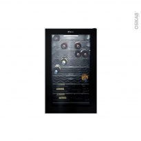 Cave à vin de service - Pose libre 85cm - Noir - CANDY - CWC154EM