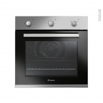 Four encastrable catalyse - Multifonction 65L - Inox - CANDY - FCP642X