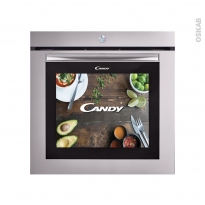 Four encastrable - Multifonction 80L - Inox - CANDY - WATCH&TOUCH