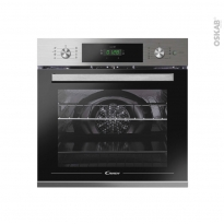 Four encastrable pyrolyse - Multifonction 70L - Inox - CANDY - FCTS896X WIFI