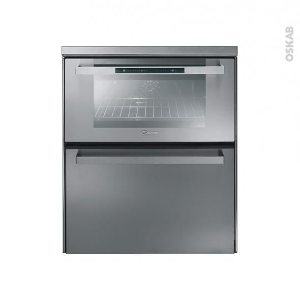 Combiné Four Multifonction Lave-Vaisselle - Nettoyage Manuel 39L - Inox - CANDY - DUO609X