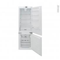 Réfrigérateur combiné 178cm  - Intégrable 243L - Blanc - ROSIERES - BRBF174TFT