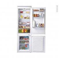 Réfrigérateur combiné 250L - Intégrable 178cm - CANDY - CKBBS172F