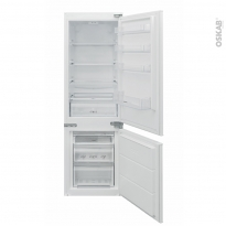 Réfrigérateur combiné 251L - Intégrable 177cm - CANDY - BCBS172T/N