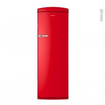 Réfrigérateur 311L - Pose libre 177cm - Rouge - CANDY - CVRO 6174RH