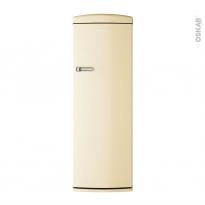 Réfrigérateur 311L - Pose libre 177cm - Crème - CANDY - CVRO 6174WH