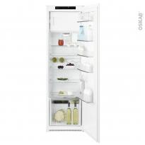 Réfrigérateur 178cm - Intégrable 260L - Blanc -  ELECTROLUX - KFS4DF18S