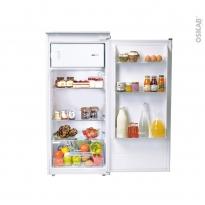 Réfrigérateur 163L - intégrable 122cm - CANDY - CIO225EE/N