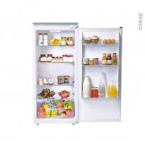 Réfrigérateur 197L - Intégrable 122cm - CANDY - CIL220EE/N