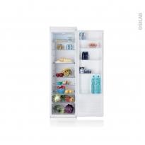 Réfrigérateur 316L - Intégrable 177cm - CANDY - CFLO3550E/1
