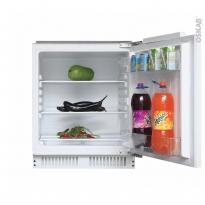 Réfrigérateur 135L - Intégrable 82cm - CANDY - CRU160NE/N