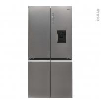 Réfrigérateur combiné 525L - Pose libre 190cm - Finition Platinium - HAIER - HTF-520IP7