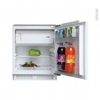 Réfrigérateur 111L - Intégrable 82cm - CANDY - CRU164NE