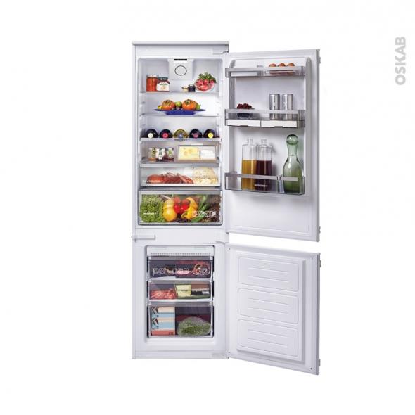 Réfrigérateur combiné 244L - Intégrable 178cm - ROSIERES - RBBF178