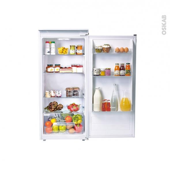 Réfrigérateur 197L - Intégrable 122.5cm - CANDY - CIL220EE