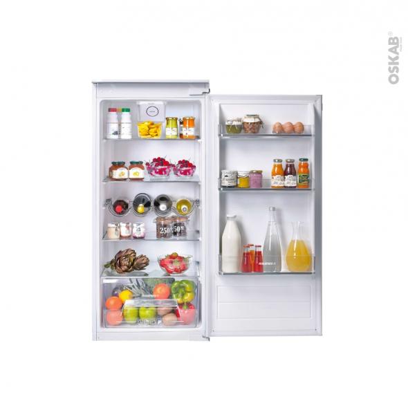 Réfrigérateur 197L - Intégrable 122cm - ROSIERES - RBLP220NF/N