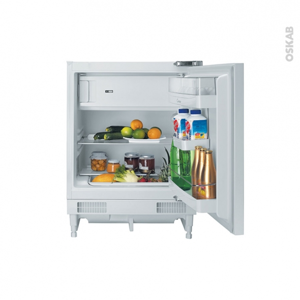 Petit réfrigérateur 117L - Sous plan 82cm - Blanc - CANDY - CRU164E