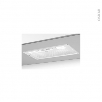 Hotte de cuisine aspirante - Groupe filtrant 52cm - Blanc - CANDY - CBG625W