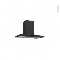 Hotte de cuisine aspirante - Pyramide 60cm - Noir - ROSIERES - RHP67000/1LPN