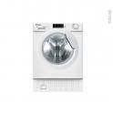 Lave linge séchant 8 kg - Intégrable 60 cm - CANDY - CBWD8514D-S