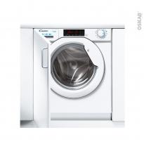 Lave linge 60CM - Intégrable 8kg - CANDY - CBW 48TWME-S