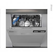 Lave vaisselle 60CM - Intégrable 13 couverts - Inox - CANDY - CDSN2D360PX
