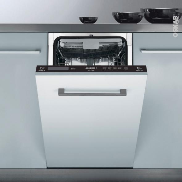 Lave vaisselle 45cm - Full Intégrable 11 couverts - ROSIERES - RDI2T1145