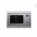 Micro-Ondes grill - Intégrable 38cm 20L - Inox - CANDY - MOS20X