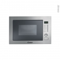 Micro-Ondes 25L - Intégrable 38CM - Inox anti-trace - CANDY - MOS25X