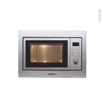Micro-Ondes grill - Intégrable 38cm 20L - Inox - ROSIERES - RMG200MIN