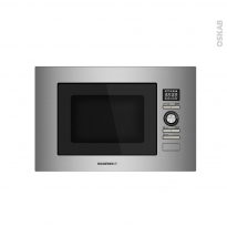 Micro-ondes grill - Intégrable 38cm 28L - Inox - ROSIERES - RMOK82/1IN