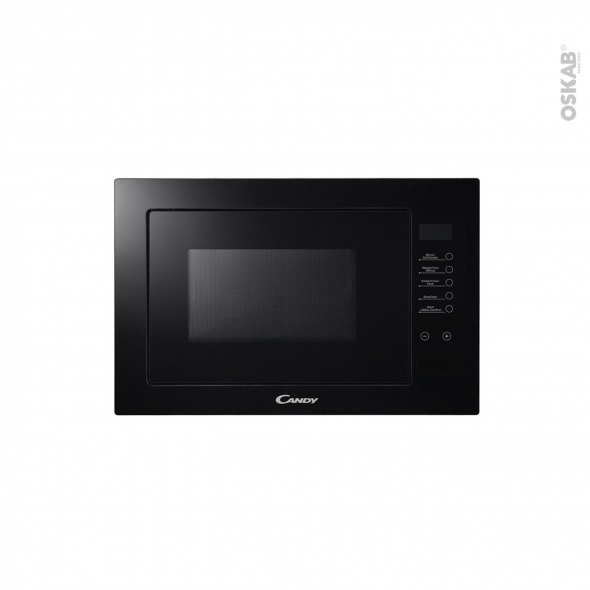 Micro-ondes grill - Intégrable 38cm 25L - Noir - CANDY - MICG25GDFN
