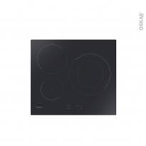 Plaque Induction - 3 foyers - Verre Noir - CANDY - CI633C/E1
