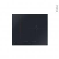 Plaque Induction - 3 foyers - Verre Noir - ROSIERES - RSTP634MC/G3