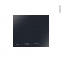 Plaque de cuisson 3 feux - Induction 60cm - Verre Noir - ROSIERES - RIS633MC