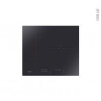 Plaque de cuisson 3 feux - Induction 59cm - Verre Noir - ROSIERES - RTPS634MC