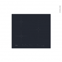 Plaque Induction - 3 foyers - Verre Noir - ROSIERES - RID633DC