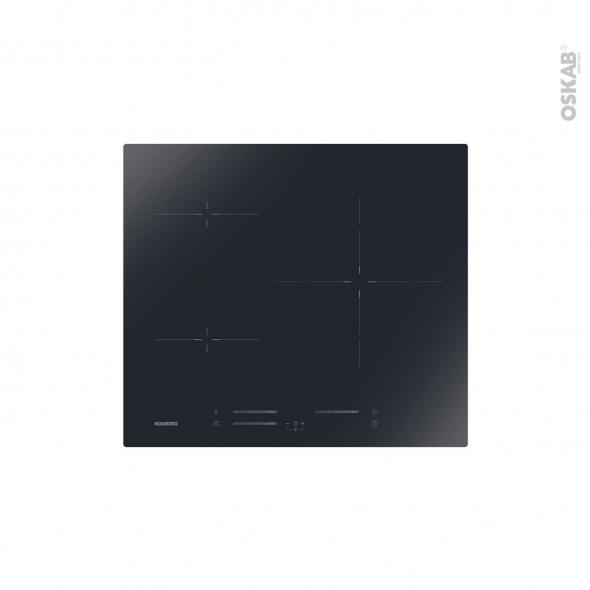 Plaque De Cuisson 3 Feux Induction 60cm Verre Noir Rosieres Ris633mc Oskab