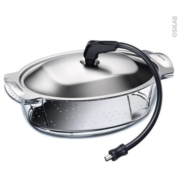 Cocotte vapeur pour fours à fonction vapeur Electrolux