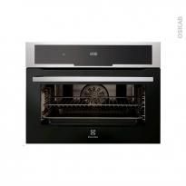 Four encastrable pyrolyse - Multifonction 43L - Niche 45cm - Inox Anti Trace - ELECTROLUX - EVK5840AAX