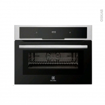 Micro-ondes combiné four 43L - Intégrable 45cm - Inox Anti Trace - ELECTROLUX -  EVY7800AAX
