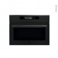 Four micro-ondes combiné - Intégrable 45cm 43L - Noir mat - ELECTROLUX - KVLAE00WT