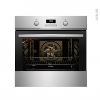 Four multifonction - Pyrolyse 68L - Inox Anti Trace - ELECTROLUX - EOC3485AAX