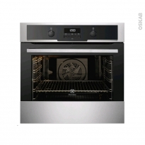 Four encastrable pyrolyse - Multifonction 72L - Inox Anti Trace - ELECTROLUX - EOC5641GAX