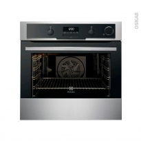 Four encastrable pyrolyse - Multifonction 72L - Inox Anti Trace - ELECTROLUX - EOC6631AAX