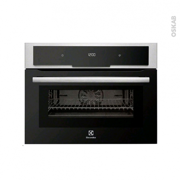 Four micro-ondes combiné - Intégrable 45cm 43L - Inox Anti Trace - ELECTROLUX - EVY7800AAX