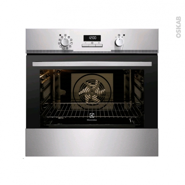 Four encastrable pyrolyse - Multifonction 68L - Inox Anti Trace - ELECTROLUX - EOC2400AAX