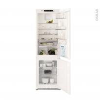 Réfrigérateur combiné 263L - Intégrable 178 cm - ELECTROLUX - ENN2853COW