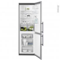 Réfrigérateur combiné 329L - Pose libre 185 cm - Inox - ELECTROLUX - LNT3FF34X3