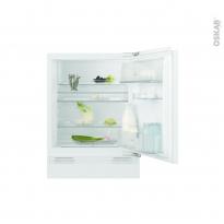 Réfrigérateur 133L - Sous plan Intégrable 82cm - ELECTROLUX - ERY1402AOW